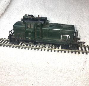 Fleischmann V60 151 Locomotive HO TESTED from West Germany Vintage Green