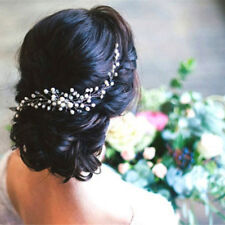 Bride Bridal Hair Comb Wedding Headwear Pearl Women Jewelry Hair Accessories QP