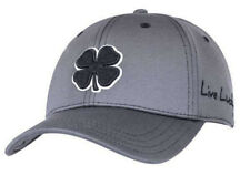 NEW Black Clover Premium Clover #22 Gray/Black L/XL Fitted Hat/Cap