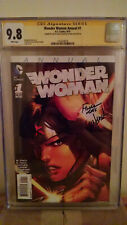 Wonder Woman Annual #1 CGC 9.8 AUTOGRAPHED by DAVID & MEREDITH FINCH