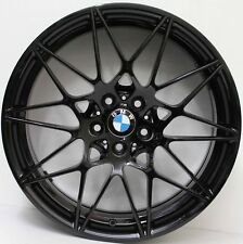20 INCH GENUINE BMW M4 / M3 F80 COMPETITION PACK 2017 FORGED WHEELS IN BLACK
