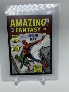 Amazing Fantasy Spider Man 2021 80TH ANNIVERSARY MARVEL PANINI STICKER CLASSIC