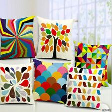 European Classic Cotton Linen Cushion Cover
