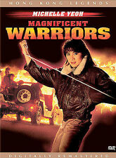 MAGNIFICENT WARRIORS DVD WIDESCREEN Michelle Yeoh LIKE NEW w/ insert