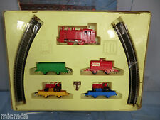 """VINTAGE JOUEF ( FOR METTOY) MODEL No.1401 """"CLOCK WORK"""" GOODS TRAIN SET VN MIB"""