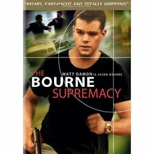 NEW THE BOURNE SUPREMACY DVD - MATT DAMON - FRANKA POTENTE - BRIAN COX - STILES