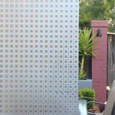 90cm x 3m Static Glueless Reusable Removable Privacy Frosted Window Glass Film