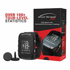 Shot Scope V2 Golf GPS Watch , Performance Tracking Golf Watch