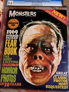 FAMOUS MONSTERS  OF FILMLAND 1969 YRARBOOK * CGC 9.6!!** *FREE SHIPPING**!