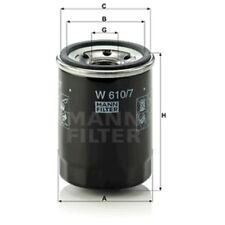 Mann Oil Filter Spin On For Hyundai i10 1.0 1.1 1.1 LPG 1.2