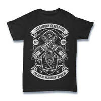 Steampunk Shirt T Mens generator Direct  Clothing Reaper Dragon Gun S-3XL