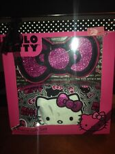 Hello Kitty 2 pcs  Gift Set - Includes Cosmetic Case and Coin Purse.