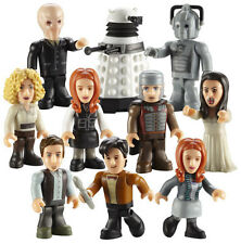 CHARACTER BUILDING DOCTOR WHO - MICRO-FIGURES - SERIES 2 - FULL SET of 10