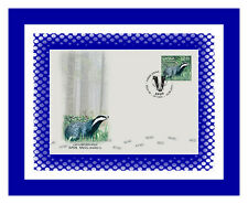 2017 Latvia LETTLAND RARE WILD ANIMAL badger  FDC