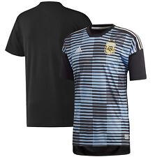 adidas Argentina Fifa Wc World Cup 2018 Elite Training Soccer Jersey Black Blue