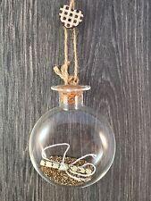 Sass Belle-Polvo de Hadas oro @ pide un deseo de Navidad adorno, ornamento o Regalo