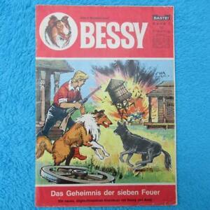 """BESSY Band Nr 1 """"Das Geheimnis der sieben Feuer"""" Bastei Z3"""