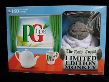 Brand New In Box P G Tips Monkey in White Dressing Gown Limited Edition