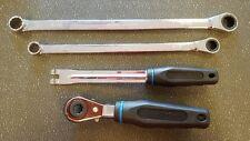 Auto Slack Adjuster Tool Set Bendix Crewson Gunite Haldex Meritor 5/16 7/16 9/16