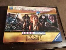 RAVENSBURGER 1000 PANORAMA PIECE JIGSAW.THE HOBBIT. EXCELLENT CONDITION.