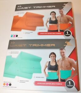 Silver One Adjustable Waist Trimmer Belt, One Size, Washable -Choice Color - NIB