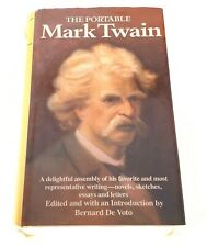 The Portable Mark Twain - 1974 - The Viking Press - Hardcover - Dust Jacket