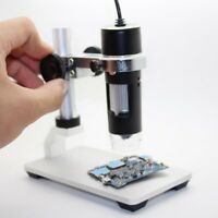 Aluminum Alloy Adjustable Focus Digital USB Microscope Holder Support Lift Stand