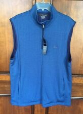 NWT Greg Norman Golf Play Dry Natural Performance StyleG7XSKk630 Cels Vest Lg