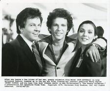KIM CATTRALL CONRAD JANIS BOBBY VINTON SMILING GOSSIP COLUMNIST '79 NBC TV PHOTO