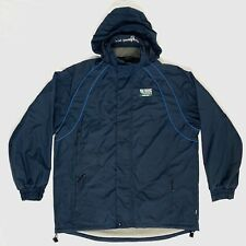 RUGBY WORLD CUP 2015 England Blue Jacket/Coat - Hooded, Fleece Lined, Mens XL
