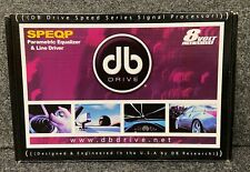 DB DRIVE SPEQP PARAMETRIC EQUALIZER & LINE SPEED SERIES DRIVER SIGNAL PROCESSOR
