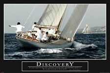 HOW I MET YOUR MOTHER ~ DISCOVERY SAILBOAT 24x36 POSTER Not Drfit Barney Stinson