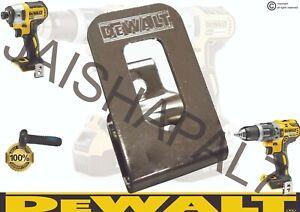 DeWALT Belt Clip Hook & Screw DCD990 DCD995 DCF825 DCF830 DCF835 DCF835C2 DCF787