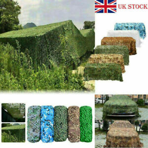 Camouflage Netting Camo Net Cover Hunting Shooting Camping Army Truck Hide-Cover