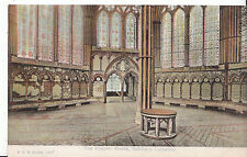 Wiltshire Postcard - The Chapter House - Salisbury Cathedral   BH597