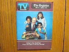 June 17, 1979 Santa Ana, Ca. Register TV Magazine(DIFF'RENT  STROKES/DANA PLATO)