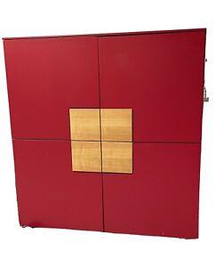 Sidebord, Kettnaker, Kommode, rot