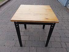 70 x 70 cm Metal Legged Cafe - Work Table (1)