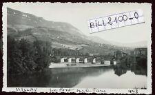 Millau ( Aveyron ) le pont sur leTarn  .photo ancienne . 1935