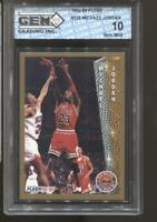 1992-93 Michael Jordan Fleer #238 Gem Mint 10 Chicago Bulls MVP HOF
