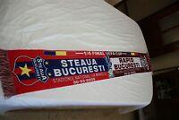 BUFANDA 1/4 DE FINAL 2006 UEFA CUP STEAUA DE BUCURESTI Y RAPID BUCURESTI ESARFA