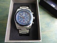 Shield Exley Blue 45 mm Stainless Steel Case Chronograph Quartz w Bracelet