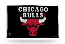 Chicago Bulls Rico 3x5 Flag w/grommets Outdoor House Banner Nba Basketball