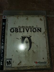 The Elder Scrolls IV: Oblivion (Sony PlayStation 3, 2007) Sealed Rare 1st Print