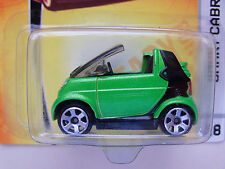 """NEW MATCHBOX """"READY FOR ACTION - METRO RIDES"""" #28 SMART CABRIO (GREEN) DIECAST"""