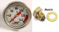 Suzuki VS 1400 GLF Intruder 1987 Magnetic Drain Plug & Oil Temperature Gauge