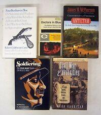 5 CIVIL WAR books DOCTORS, 4 BROTHERS IN BLUE, ANTIETAM, SOLDERING, CURIOSITIES
