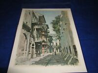 """Don Davey 1967 Pirates Ally New Orleans Print Unframed 12.75"""" X 17"""""""