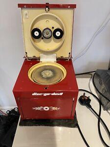 TDR Disc Go Devil Disc Cleaning Machine Working Total Disc Repair