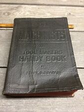 1946 Audels Machinists and Tool Makers Handy Book  Audel's  Frank Graham